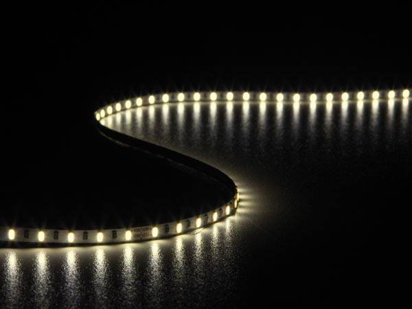 Flexible à led - blanc chaud 2700k - 600 led - 5 m - 24v