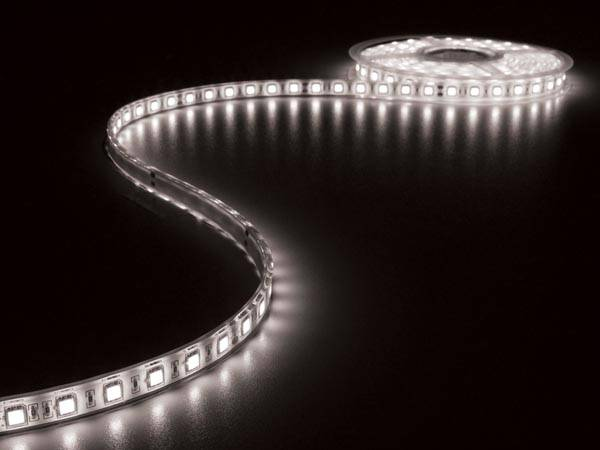 Flexible à led - blanc froid 6500k - 300 led - 5m - 24v