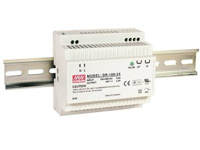 100w single output industrial din rail power supply 24v 4.2a
