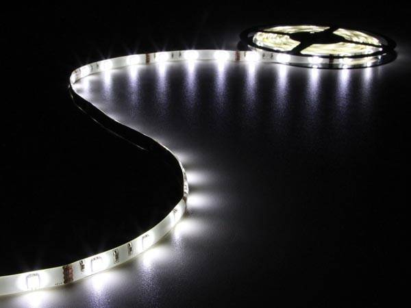 Flexible à led - blanc froid - 150 leds - 5 m - 12 v