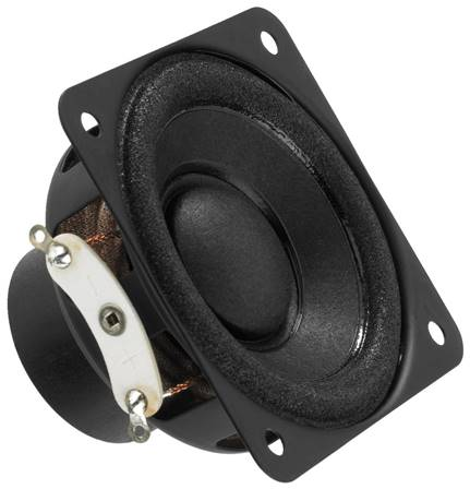 Haut-parleur miniature 10 W 8 Ohms Monacor SP-6/8SQ