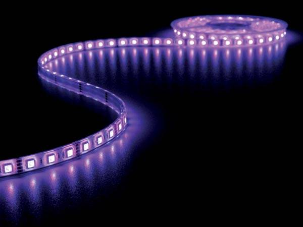 Flexible à led - rvb - 300 leds - 5m - 12v