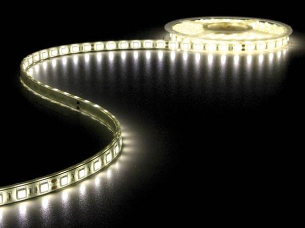 Flexible à led - blanc chaud 3500k - 300 led - 5m - 24v