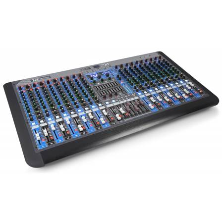 Power Dynamics PDM-S2004 Table de mixage 20 canaux, double section