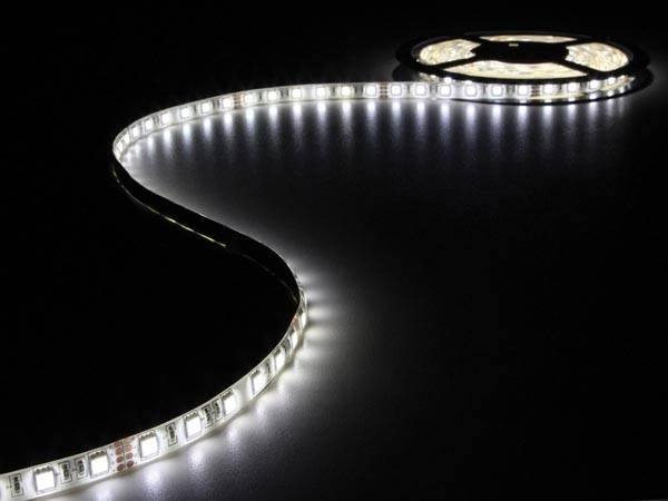 Flexible à led - blanc neutre 4500k - 300 led - 5m - 24v
