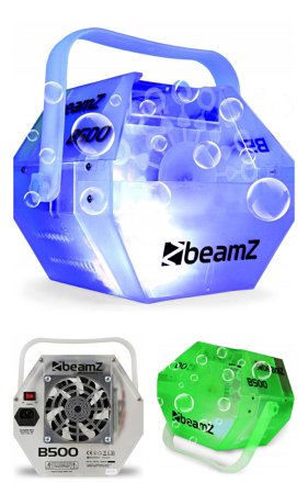 Machine à bulles LED RGB BeamZ B500LED