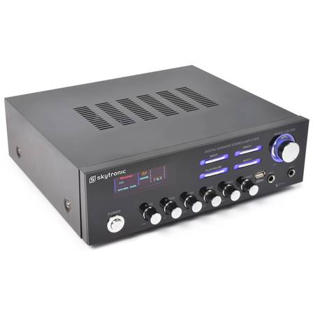 SkyTronicAV-120 Amplificateur stéréo karaoké MP3