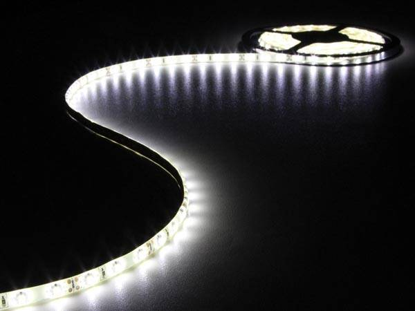 Flexible à led - blanc froid - 300 leds - 5 m - 12 v