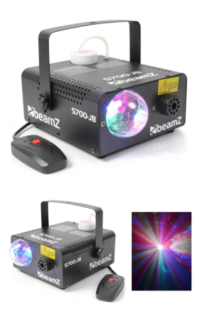 Machine à fumée  Jelly Ball LED BeamZ S700-JB