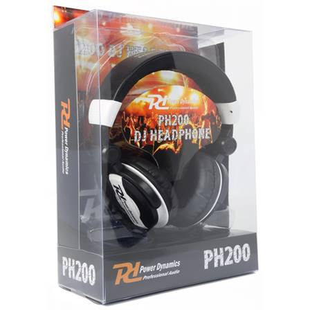 Power Dynamics PH200 Casque DJ blanc