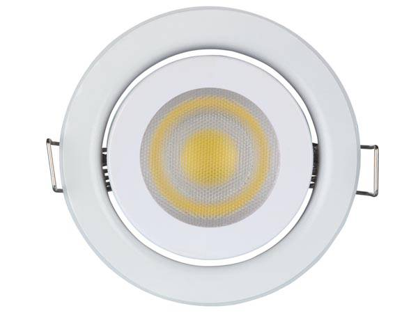 Spot led encastrable 5 w - gu10 - 230 v - blanc neutre