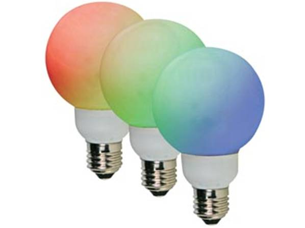 Ampoule led rgb - e27- 20 led - ø60mm