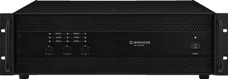 Amplificateur professionnel 3 canaux Monacor STA-1603CLUB