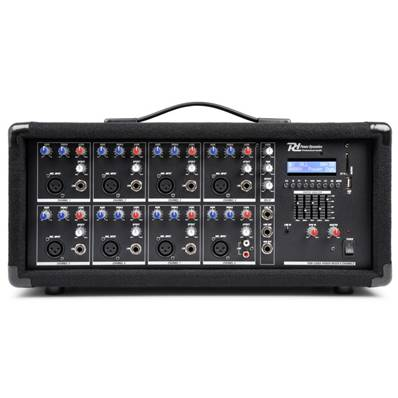 Power DynamicsPDM-C805A Table de mixage amplifiée 8 canaux