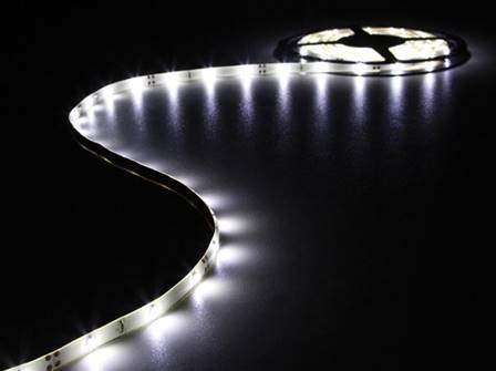 Flexible à led blanc froid 150 led 5 m 12 v