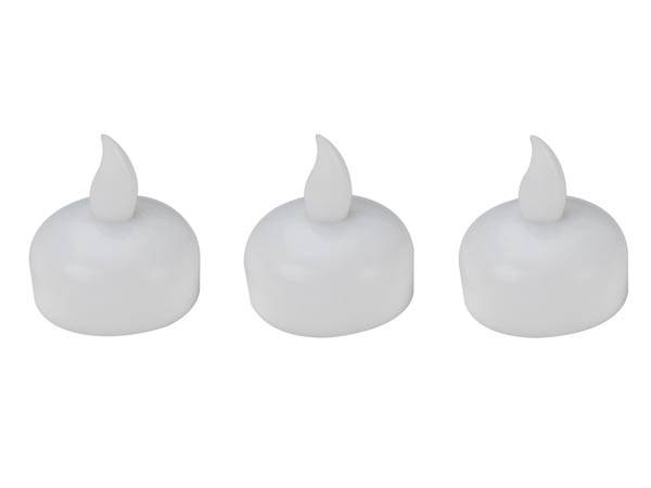 Bougie à led flottante - 3 pcs
