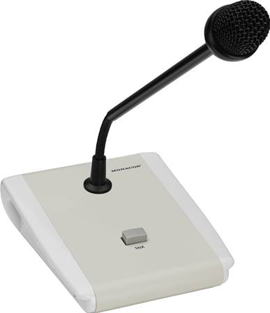 Microphone de table Public Adress PTT Monacor PA-5000PTT