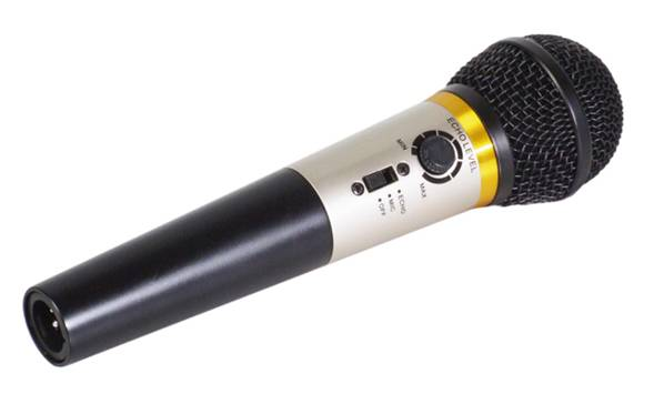 Microphone Karaoke Mr Entertainer avec Echo Integre