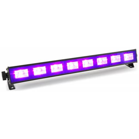 BeamZ BUV93 Barre 8x3W UV LEDs
