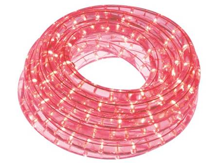 Flexible lumineux à led 9 m rouge