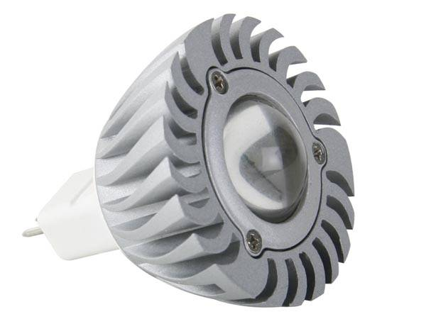 Lampe led 3w - blanc neutre (3900-4500k) 12vca/cc - mr16