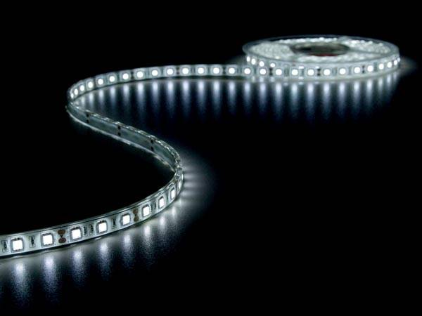 Flexible à led - blanc froid 6500k - 300 led - 5m - 12v
