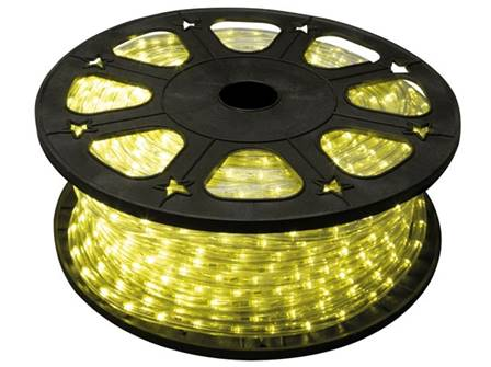 Flexible lumineux à led 45 m jaune