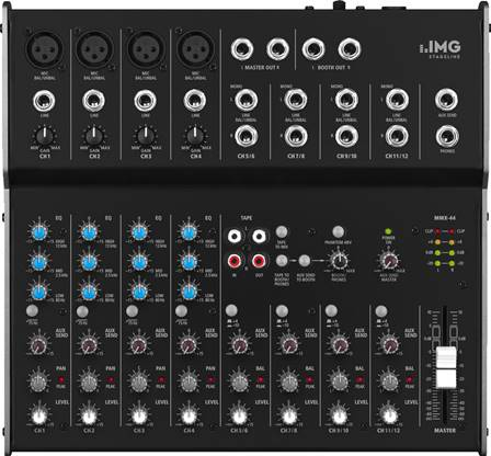 Table de mixage audio 8 canaux Monacor MMX-44