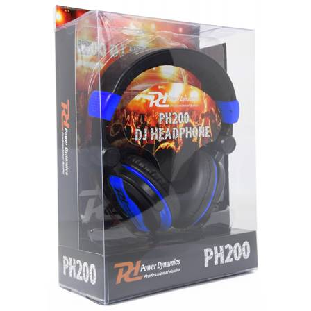 Power Dynamics PH200 Casque DJ bleu