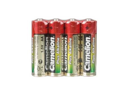 Alcaline aa / lr6 1.5v 2600mah (4pcs/film rétractable)