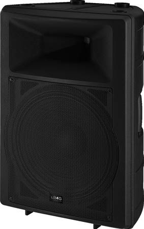 Enceinte DJ et Power active 175 W Monacor PAK-115MK2