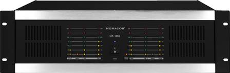 Amplificateur professionnel multi-canaux Monacor STA-1506