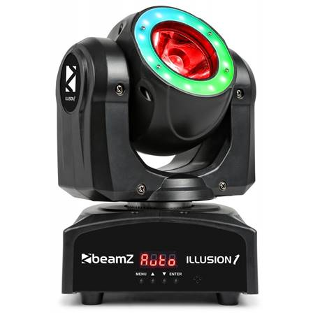 BeamZ Illusion 1 Beam LED avec anneau LED