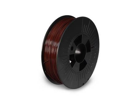 filament pla 1.75 mm marron mat 750 g