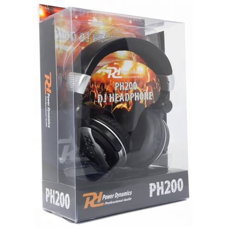Power Dynamics PH200 Casque DJ Argent