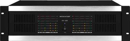 Amplificateur professionnel multi-canaux Monacor STA-1508