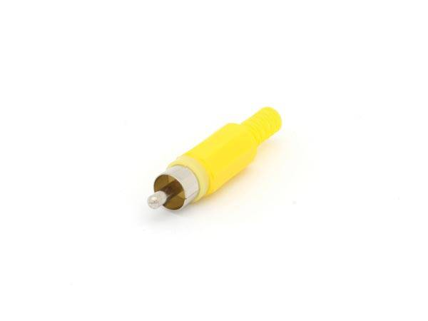 Fiche rca male - jaune (par 25 pieces)