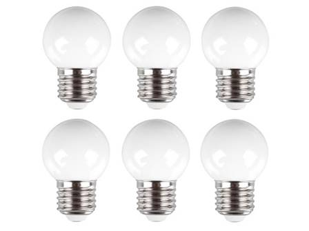 Ampoules led blanc chaud 10 pcs