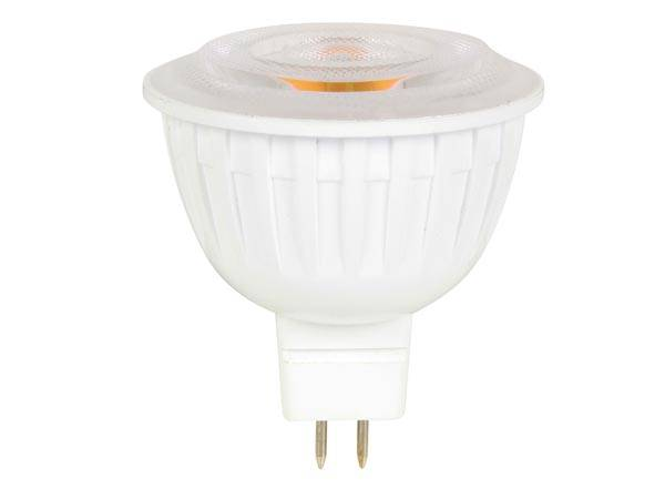 Spot led - 7.5 w - gu5.3 (mr16) - blanc chaud