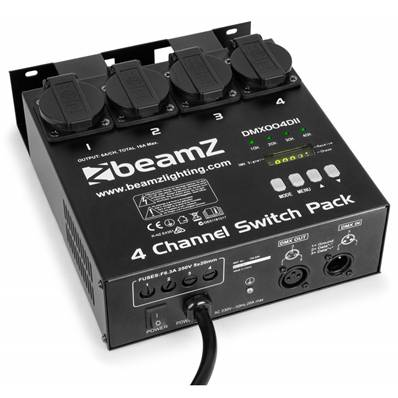 BeamZ Switch Pack II DMX512 4 canaux