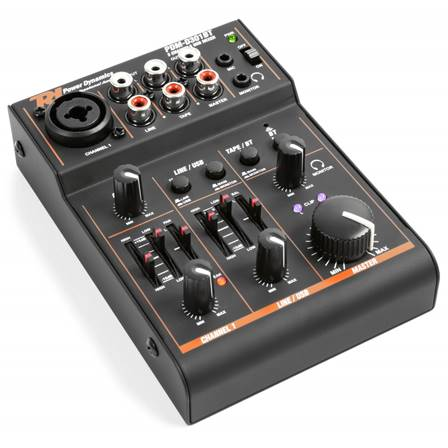 Power Dynamics PDM-D301BT Table de mixage 3 canaux USB