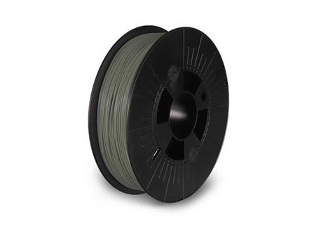 filament pla 1.75 mm gris mousse mat 750 g