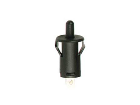 Bouton poussoir off (on) noir 1a 250v