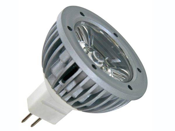 Lampe led 1w - blanc neutre (3900-4500k) - 12vca/cc - mr16