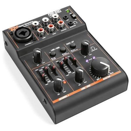 Power DynamicsPDM-D301 Table de mixage 3 canaux USB